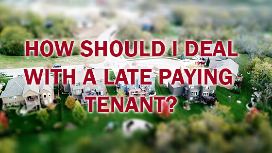late paying tenants